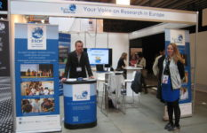EuroScience stand at ESOF 2014